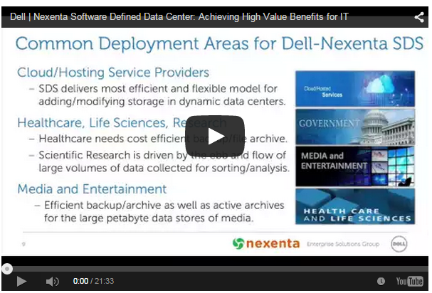 Dell Software Defined Data Center: Achieving High Value